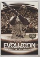 Ichiro, Ken Griffey JR. #/150