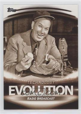 2019 Topps - Evolution Of: Technology #ET-5 - Television Broadcast, Radio Broadcast