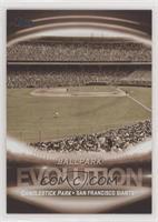 Stadiums - Candlestick Park, At&t Park