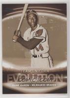 Team Logos/Uniforms - Hank Aaron, Ronald Acuna Jr.