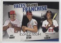 Mike Trout, Rod Carew, Nolan Ryan /299