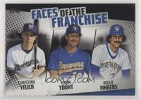 Christian Yelich, Robin Yount, Rollie Fingers /299