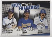 Rollie Fingers, Robin Yount, Christian Yelich /299