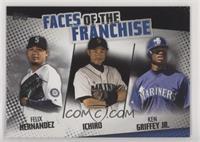 Felix Hernandez, Ichiro, Ken Griffey Jr. #/299