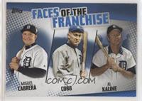 Ty Cobb, Al Kaline, Miguel Cabrera
