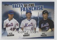 Mike Piazza, David Wright, Jacob deGrom