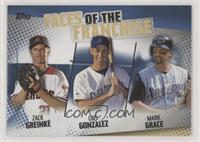 Zack Greinke, Luis Gonzalez, Mark Grace
