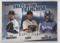 Ken Griffey Jr., Ichiro, Felix Hernandez