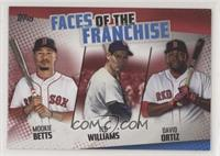 Mookie Betts, Ted Williams, David Ortiz #/10