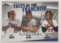 Mike Trout, Rod Carew, Nolan Ryan