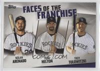 Troy Tulowitzki, Todd Helton, Nolan Arenado [NearMint‑Mint]