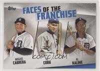 Miguel Cabrera, Ty Cobb, Al Kaline