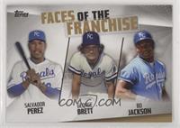 Salvador Perez, George Brett, Bo Jackson