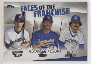 2019 Topps - Faces of the Franchise #FOF-16 - Christian Yelich, Robin Yount, Rollie Fingers