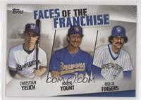 Rollie Fingers, Robin Yount, Christian Yelich