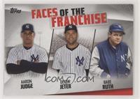 Aaron Judge, Derek Jeter, Babe Ruth