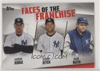Aaron Judge, Derek Jeter, Babe Ruth