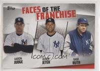 Babe Ruth, Derek Jeter, Aaron Judge