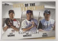 Mark Grace, Luis Gonzalez, Zack Greinke