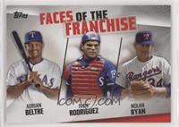 Adrian Beltre, Ivan Rodriguez, Nolan Ryan