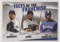 Felix Hernandez, Ichiro, Ken Griffey Jr.