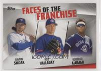 Justin Smoak, Roy Halladay, Roberto Alomar