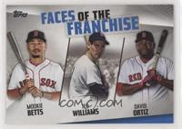 David Ortiz, Ted Williams, Mookie Betts