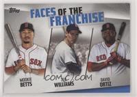 Mookie Betts, Ted Williams, David Ortiz