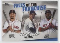 Mookie Betts, Ted Williams, David Ortiz [EXtoNM]