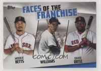 Mookie Betts, Ted Williams, David Ortiz