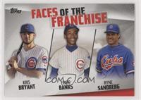 Ryne Sandberg, Ernie Banks, Kris Bryant
