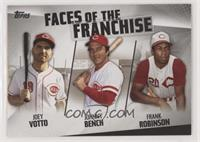 Joey Votto, Johnny Bench, Frank Robinson