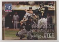 Derek Jeter #34/50