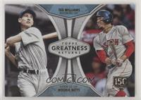 Mookie Betts, Ted Williams /150