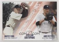 Andy Pettitte, Whitey Ford