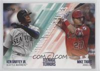 Mike Trout, Ken Griffey Jr.