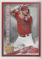 Mike Trout #/123