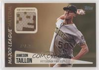 Jameson Taillon #/50