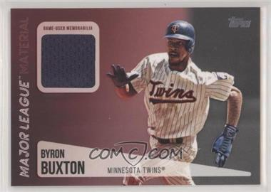 2019 Topps - Major League Material Relics Series 2 #MLM-BB - Byron Buxton