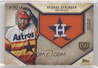 George Springer #/150