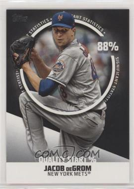 2019 Topps - Significant Statistics #SS-25 - Jacob deGrom