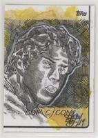 Christian Yelich (Artist is Brian Kong) #/1