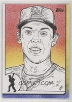 Christian Yelich (Rusty Gilligan) #/1
