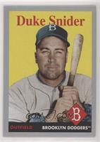 1958 Design - Duke Snider #/99