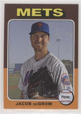 2019 Topps Archives - [Base] - Subset Variations #199 - 1975 Design Signature Omission - Jacob deGrom