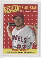 High Number 1958 All-Star Design - Mike Trout