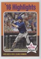 High Number 1975 Highlights Design - Kris Bryant