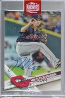 Mike Clevinger (2017 Topps) /76 [BuyBack]
