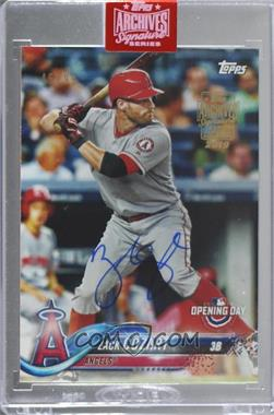 2019 Topps Archives Signature Edition Buybacks - [Base] #18TOD-33 - Zack Cozart (2018 Topps Opening Day) /99 [BuyBack]