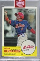 Cesar Hernandez (2012 Topps Heritage Minor League) [Uncirculated] #/1